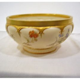 Royal Worcester bowl, ca-1898, about 10 inch diameter, Sold