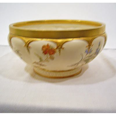 Royal Worcester bowl, ca-1898