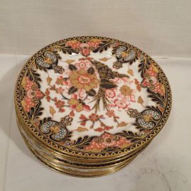 Set of twelve Royal Crown Derby Imari luncheons or dessert plates, 8 1/8 inches, ca-1878, Price on Request