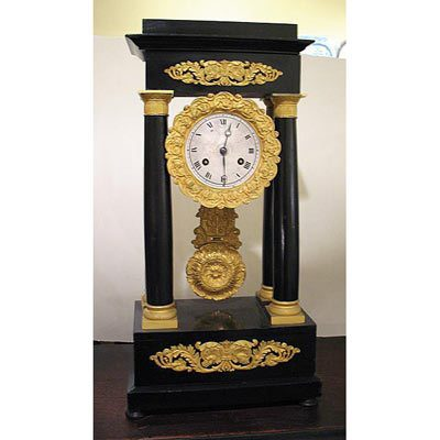 French Empire clock, working condition
