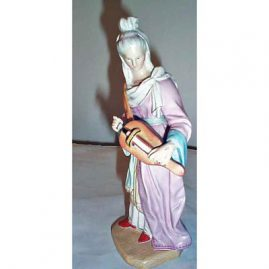 Rare Holst figurine, 1840s-1850s, 8 inches, $1800.00