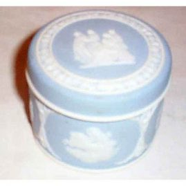 Wedgwood light blue box, before 1890, Sold