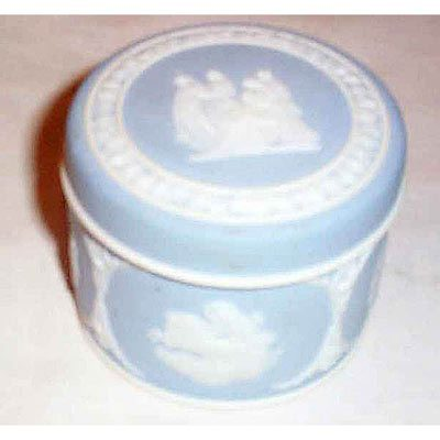 Wedgwood light blue box, before 1890