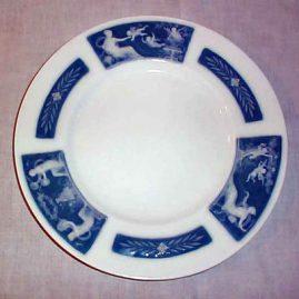 "Minton Pate-Sur-Pate plate, ca 1925, signed Albion Birks, 10 1/4"", $1200.00"
