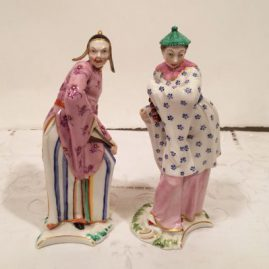 Nineteenth century Nymphenburg figures, being sold separately, Price on Request