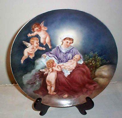 Rosenthal porcelain plaque
