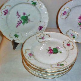 18th century Meissen plates