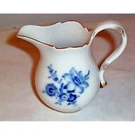 Meissen blue flower  creamer, ca-1953-1957, sold. We have other Meissen creamers available.