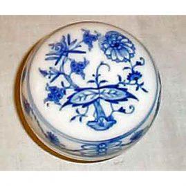 Meissen blue onion box