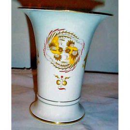 Meissen bird and dragon vase