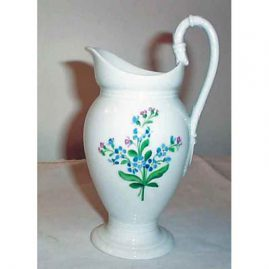 Meissen bell flower pitcher or creamer