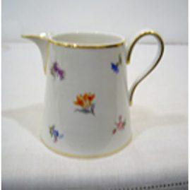 Meissen streublumen milk jug, 1880s-1890s, Sold