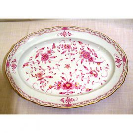 Meissen Purple Indian platter