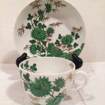 Antique Spode English teacup and saucer