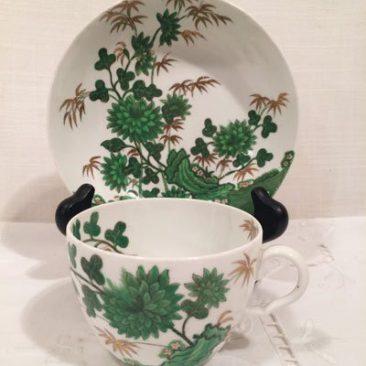 Antique Spode English teacup and saucer. Circa-1850s, Price-$125.