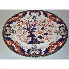 Royal Crown Derby platter, 15 inches, ca-1891, Sold