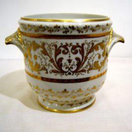 Le Tallec de Paris jardinaire or cache pot with profuse raised gilding