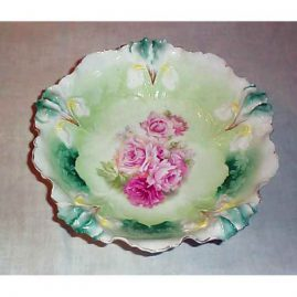 R.S. Prussia bowl, 10 inches,