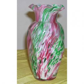 Victorian end of the day vase, 7 inches tall, $295.00