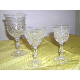 Webb crystal stemware