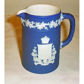 Wedgwood Canadian pitcher, before 1890, Sold