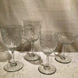 Set of Baccarat stemware in the Paris pattern