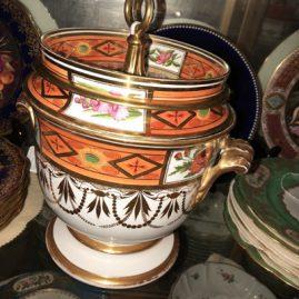 Antique Spode fruit cooler. Circa-1770s-1790s.