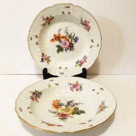 Pair of Meissen Bowls